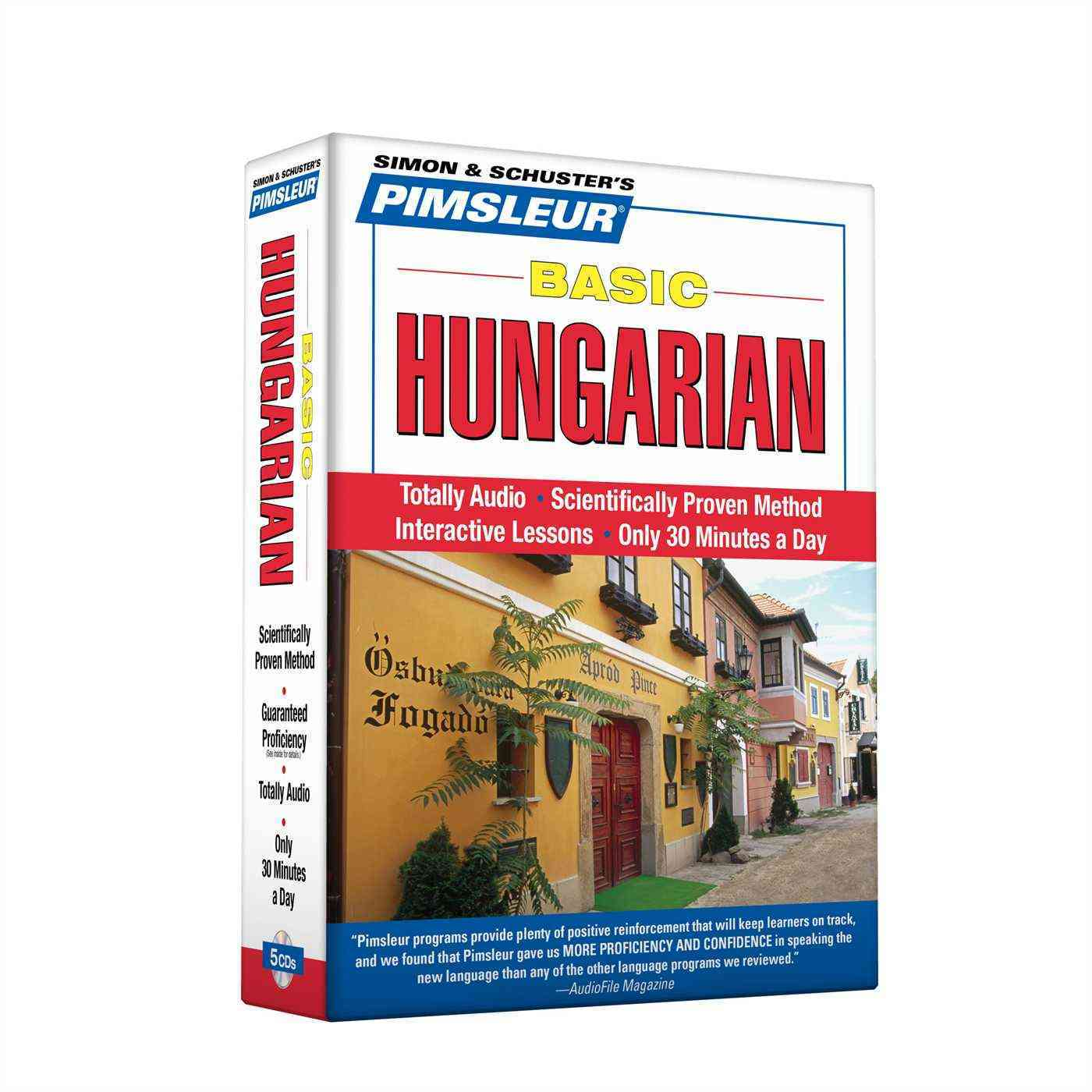 [CD] Basic Hungarian By Pimsleur